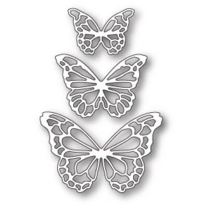 Memory Box Stanzschablone - Potenza Butterfly Trio