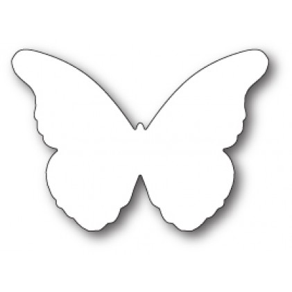 Memory Box Stanzschablone - Chantilly Butterfly Background
