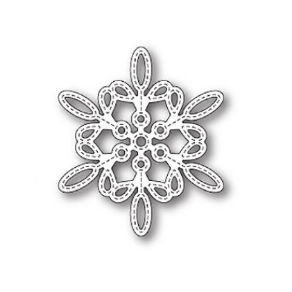 Memory Box Stanzschablone - Purslane Snowflake Outline