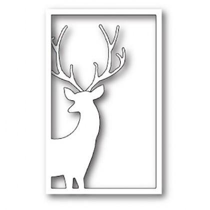 Memory Box Stanzschablone - Reindeer Window