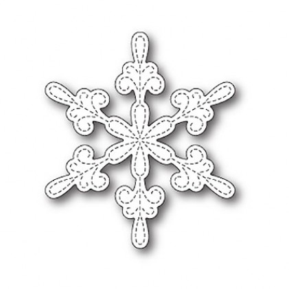 Memory Box Stanzschablone - Chancery Snowflake Outline