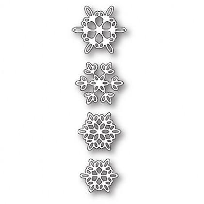 Memory Box Stanzschablone - Batavia Snowflakes