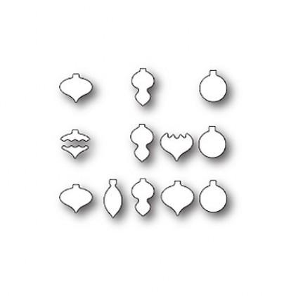 Memory Box Stanzschablone - Tiny Ornament Triplet