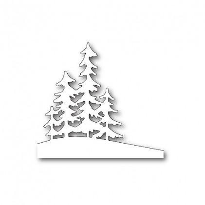 Memory Box Stanzschablone - Alpine Trees