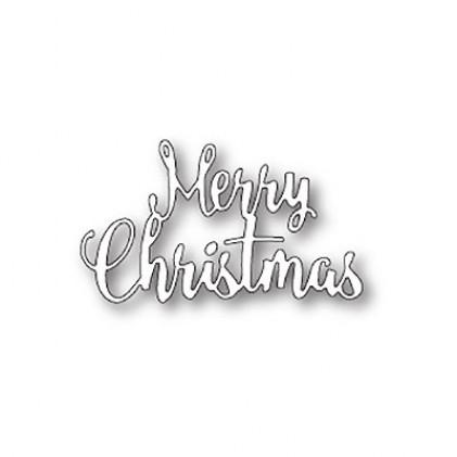 Memory Box Stanzschablone - Brush Merry Christmas
