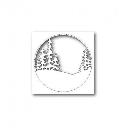 Memory Box Stanzschablone - Stitched Circle Trees