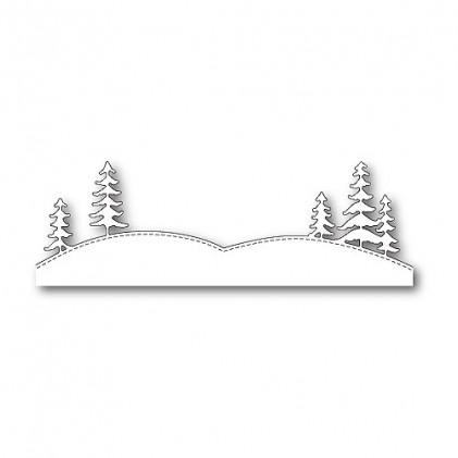 Memory Box Stanzschablone - Stitched Tree Landscape