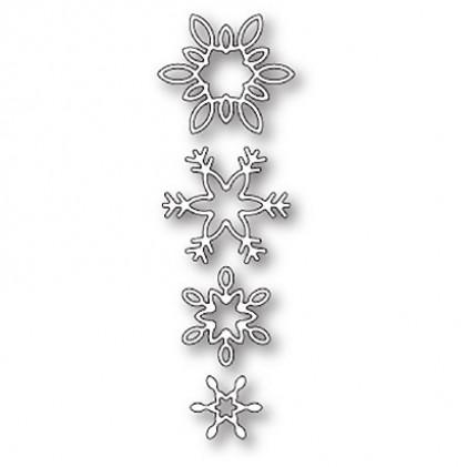 Memory Box Stanzschablone - Breezy Snowflakes