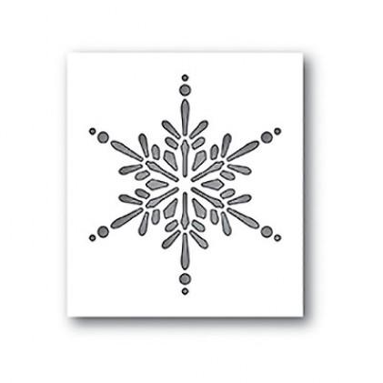 Memory Box Stanzschablone - Starlight Snowflake Collage