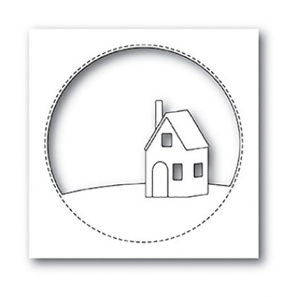 Memory Box Stanzschablone - Cabin Circle