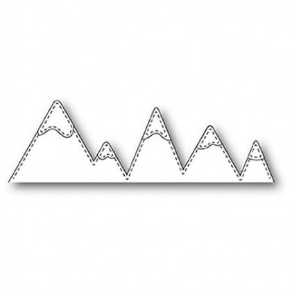 Memory Box Stanzschablone - Stitched Mountains - 40% RABATT