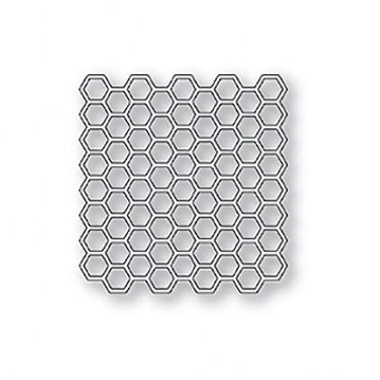 Memory Box Stanzschablone - Honeycomb Square