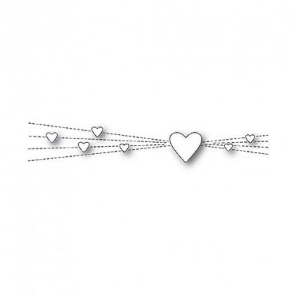 Memory Box Stanzschablone - Heart Rays