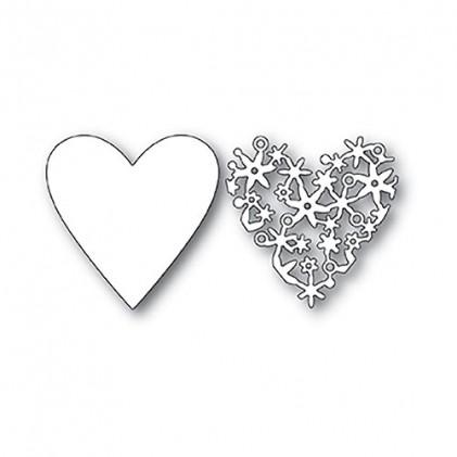 Memory Box Stanzschablone - Lace Cut Heart