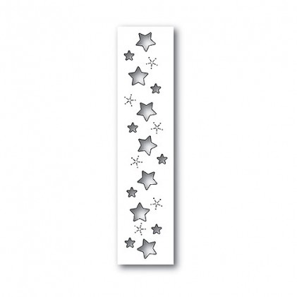 Memory Box Stanzschablone - Starry Sky Border