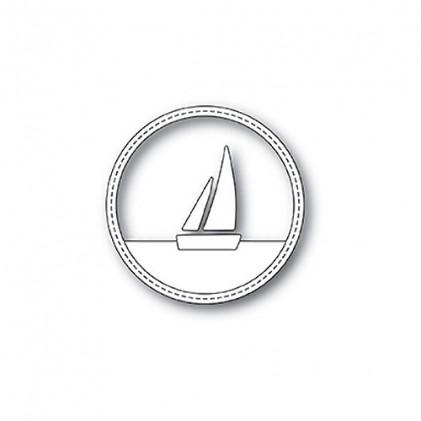 Memory Box Stanzschablone - Sailboat Circle Frame