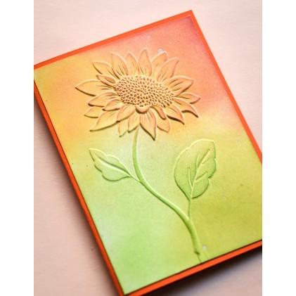 Memory Box 3D Prägeschablone - Magnificent Sunflower