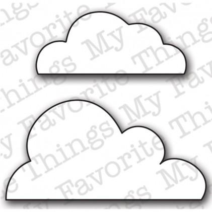 My Favorite Things Die-Namics Die - Flat Bottom Clouds