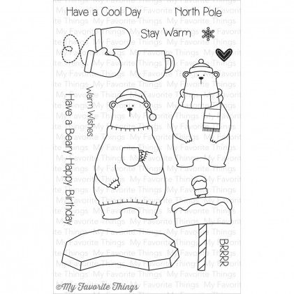 My Favorite Things Clear Stamps - Cool Day