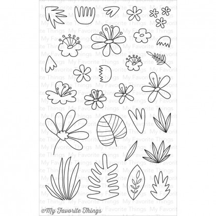 My Favorite Things Clear Stamps - Blissful Blooms