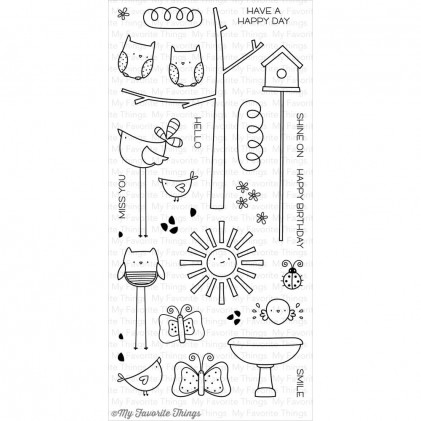 My Favorite Things Clear Stamps - Things With Wings