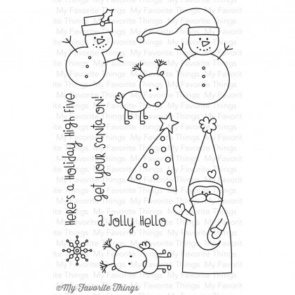 My Favorite Things Clear Stamps - Christmas Cuteness
