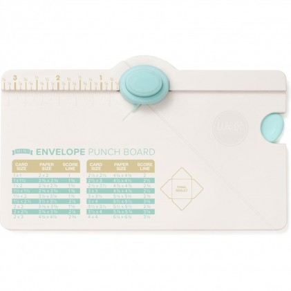 Mini Envelope Punch Board von We R Memory Keepers