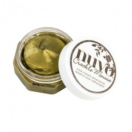 Nuvo Crackle Mousse - Egyptian Gold