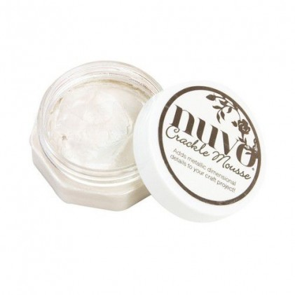 Nuvo Crackle Mousse - Russian White