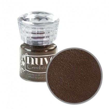 Nuvo Embossingpulver - Hot Chocolate