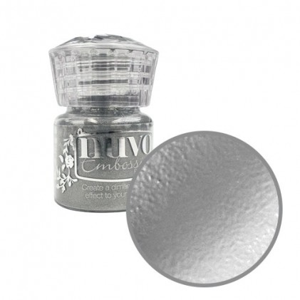 Nuvo Embossingpulver - Classic Silver