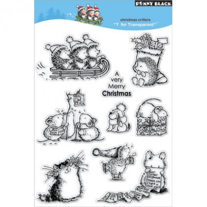 Penny Black Clear Stamps - Christmas Critters