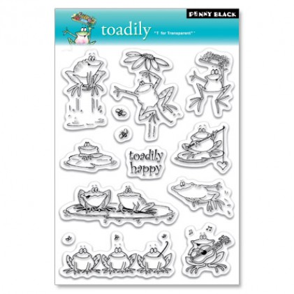 Penny Black Clear Stamps - Toadily