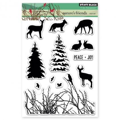 Penny Black Clear Stamps - Nature's Friends