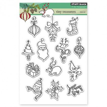 Penny Black Clear Stamps - Tiny Treasures