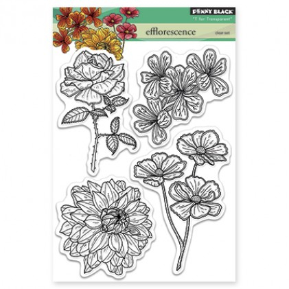 Penny Black Clear Stamps - Efflorescence