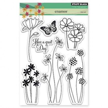 Penny Black Clear Stamps - Enamor