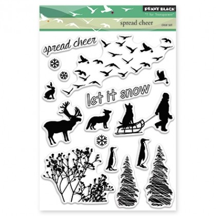Penny Black Clear Stamps - Spread Cheer