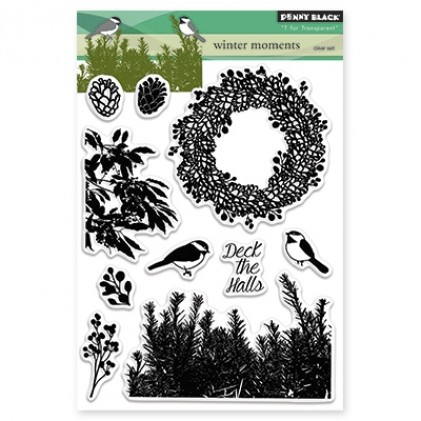 Penny Black Clear Stamps - Winter Moment