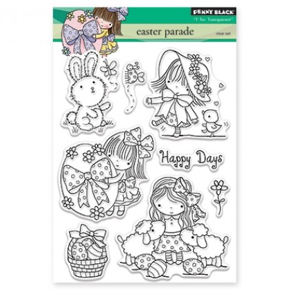 Penny Black Clear Stamps - Easter Parade