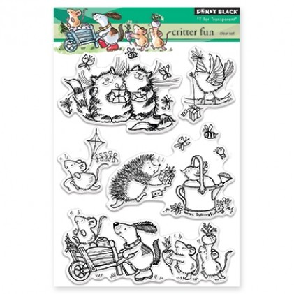 Penny Black Clear Stamps - Critter Fun