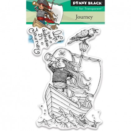 Penny Black Clear Stamps Mini - Journey