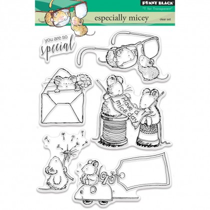Penny Black Clear Stamps - Especially Micey
