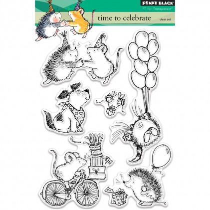 Penny Black Clear Stamps - Time To Celebrate