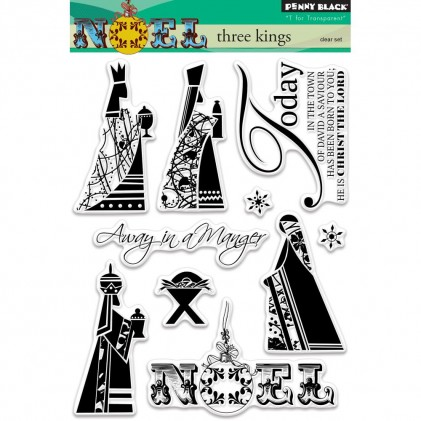 Penny Black Clear Stamps - Three Kings