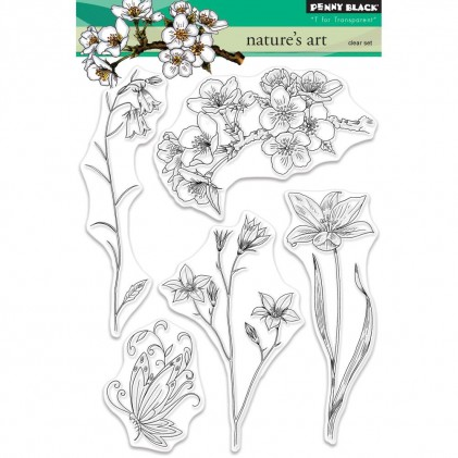 Penny Black Clear Stamps - Nature's Art