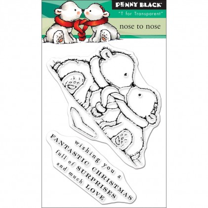 Penny Black Clear Stamps - Nose To Nose
