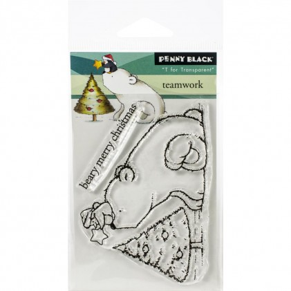Penny Black Clear Stamps - Team Work