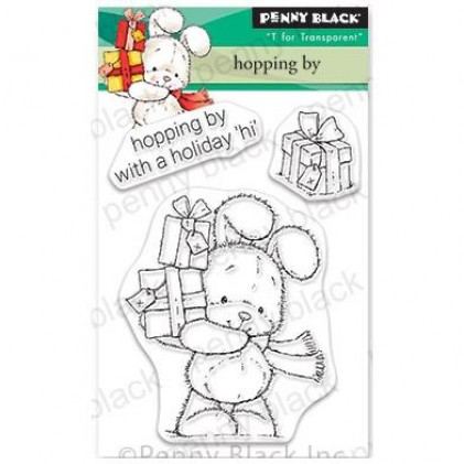 Penny Black Clear Stamps - Hopping By