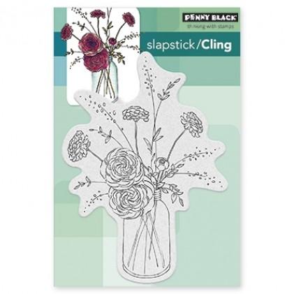 Penny Black Cling Stamps - Fragrant